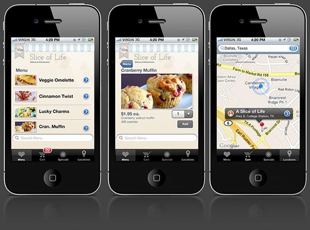iPhone Retina GUI PSD